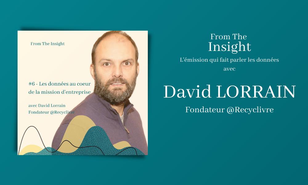 David Lorrain, fondateur recyclivre