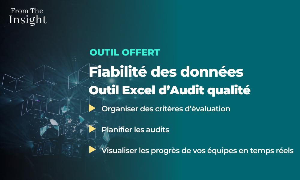 Outil Excel gratuit fiabilité des données